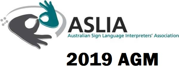 2019 ASLIA National AGM & New Life Member Induction