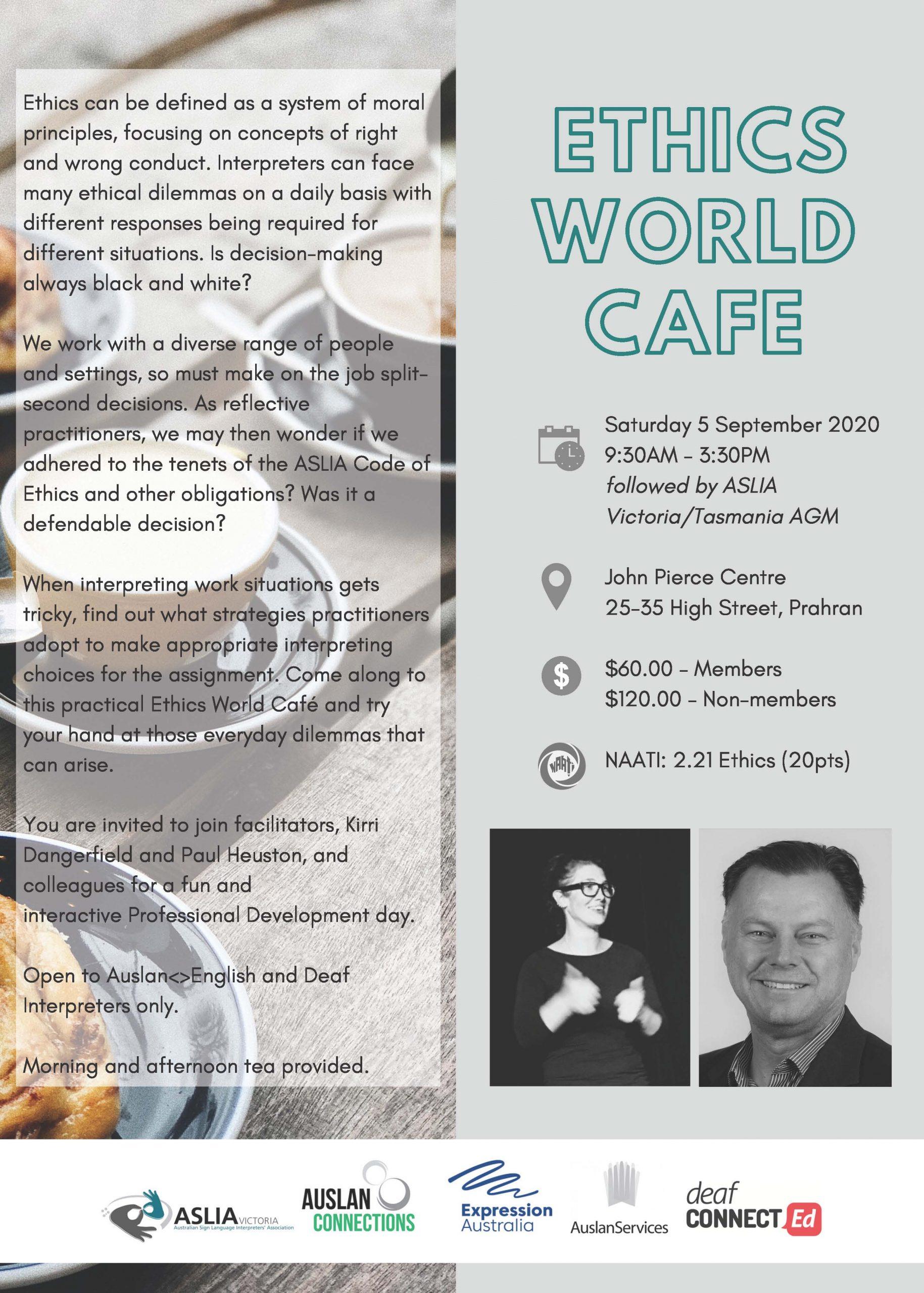 Ethics World Cafe