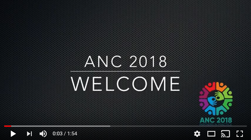 Image for ANC2018 Welcome