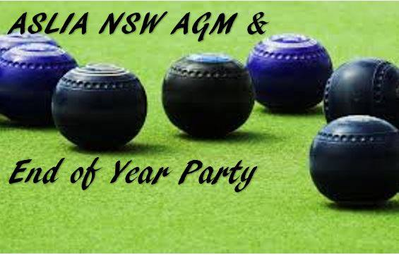 ASLIA NSW AGM & End of Year Interpreter Party