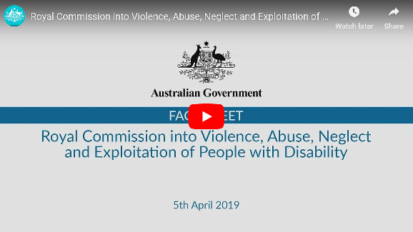 Royal Commission into Violence, Abuse, Neglect and Exploitation of People with Disability