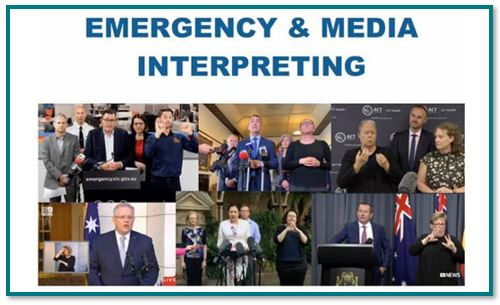 Emergency and Media Interpreting Discussion Group #10