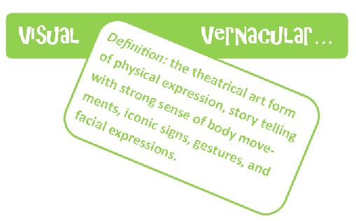 Visual Vernacular Workshop