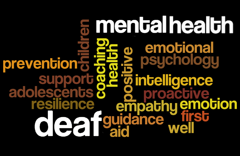PD opportunity – mental health for students who are deaf or hard of hearing
