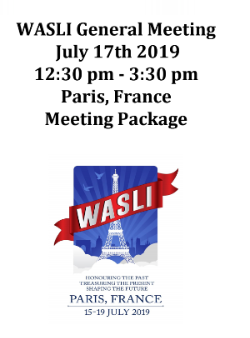 Welcome to the WASLI General Meeting